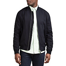 Buy Edwin Flight Jacket, Navy Online at johnlewis.com