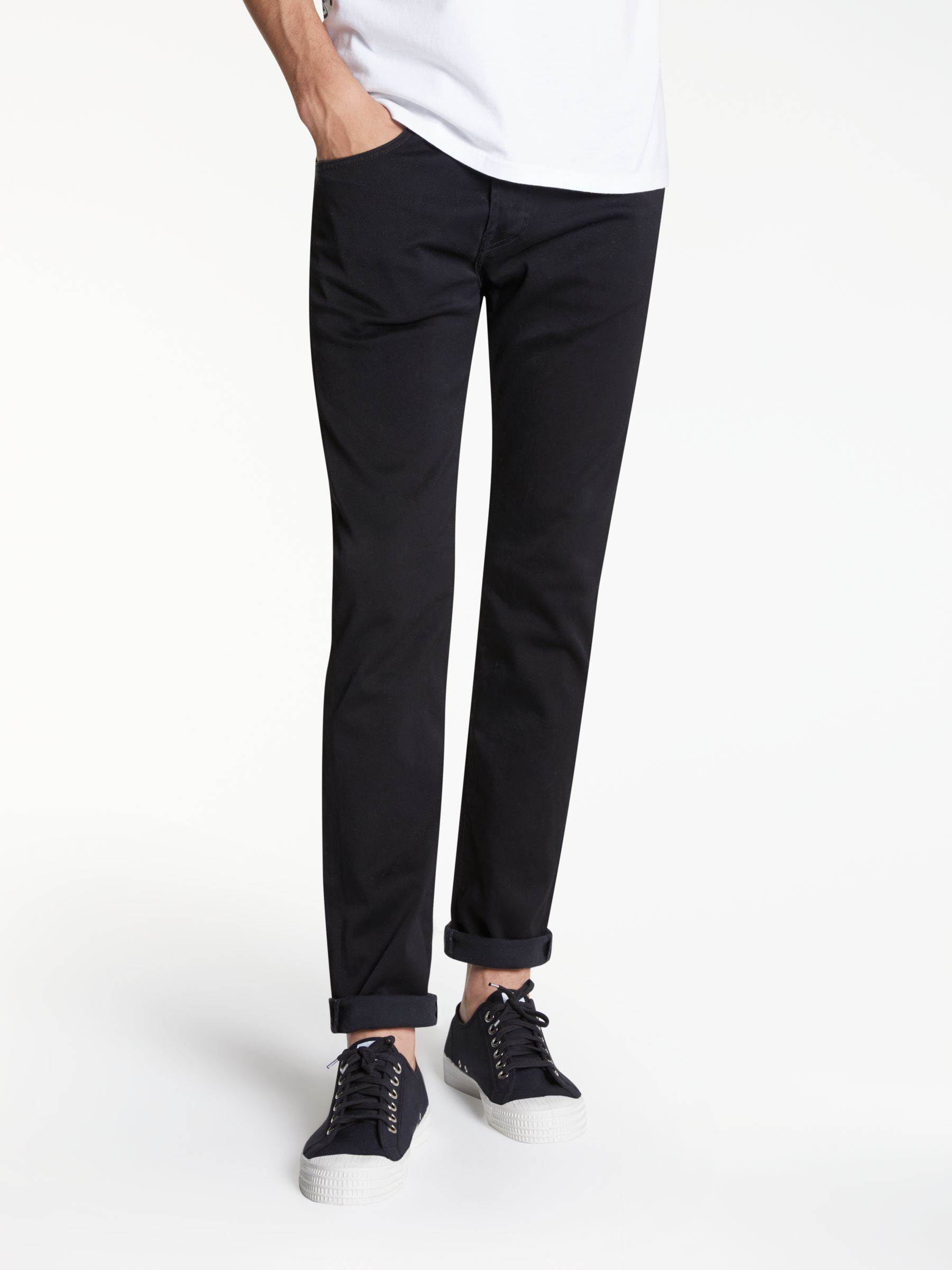 Edwin Edwin ED-80 Slim Tapered Jeans, Ink Black Denim