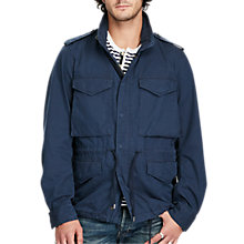 Buy Denim & Supply Ralph Lauren Field Jacket, Navy Online at johnlewis.com