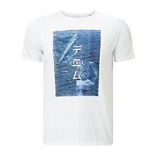 Buy Edwin Poster T-Shirt, White Online at johnlewis.com