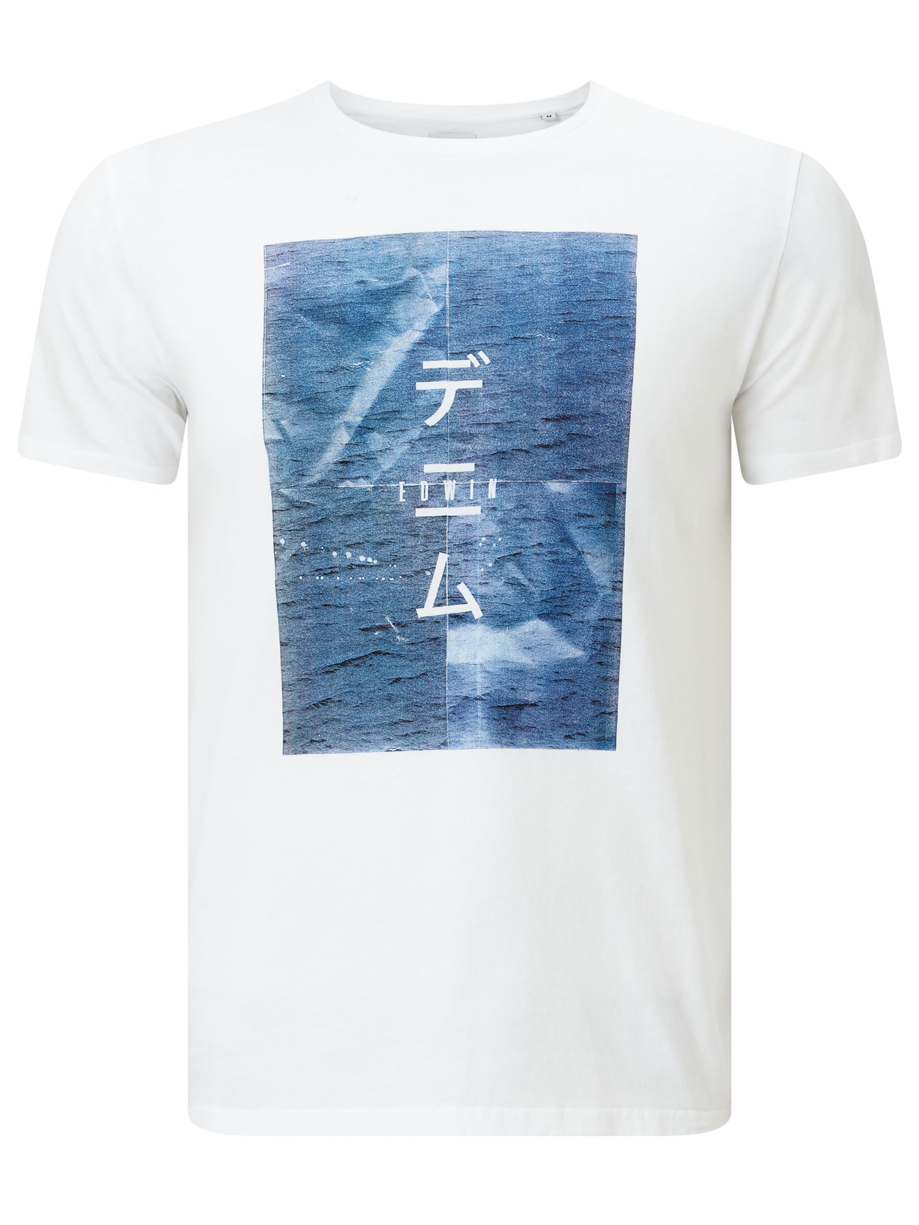 Edwin Edwin Poster T-Shirt, White