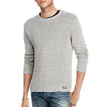 Buy Denim & Supply Crew Neck Long Sleeve Sweatshirt, Grey Online at johnlewis.com