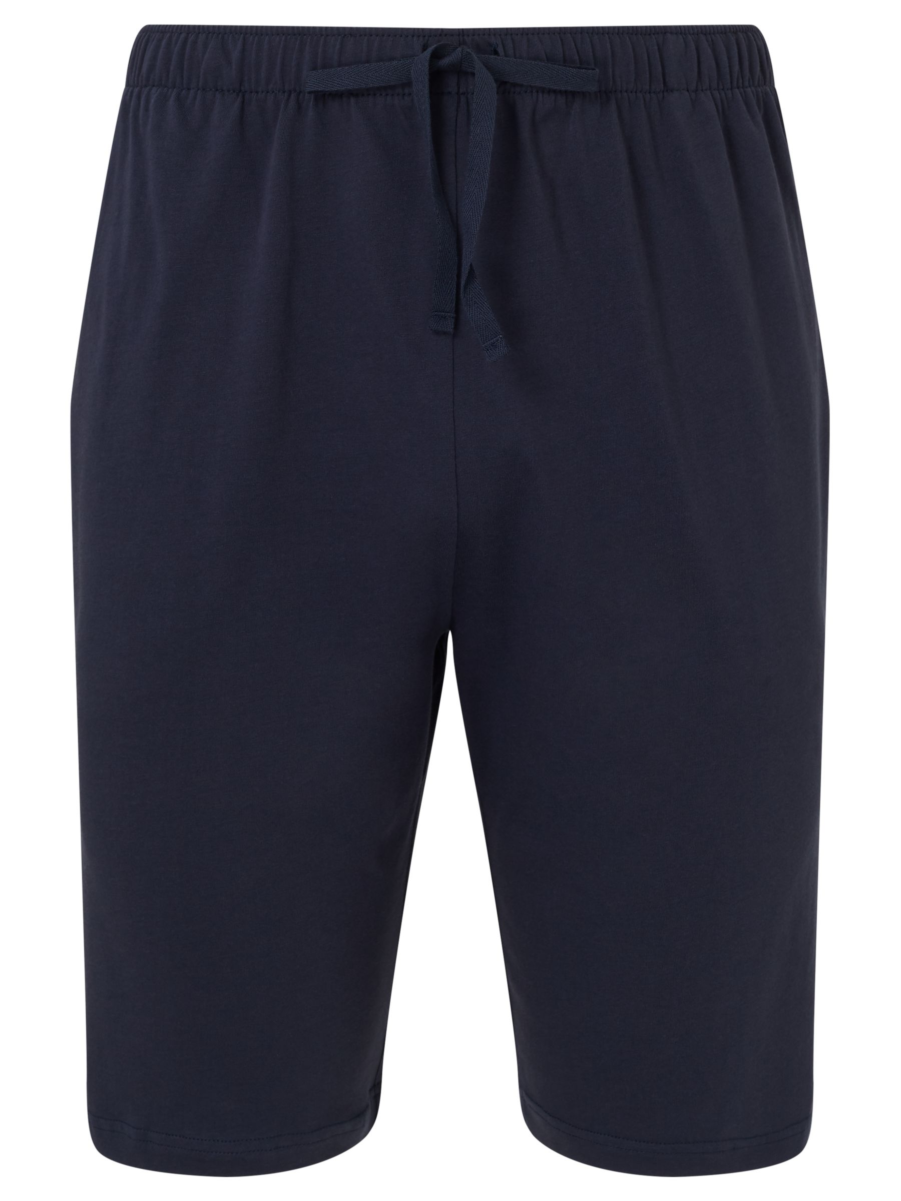 Sunspel Sunspel Pima Cotton Lounge Shorts, Navy