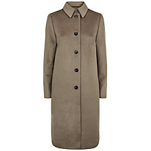 Buy Jaeger Wool Cross Belt Coat, Harvest Online at johnlewis.com