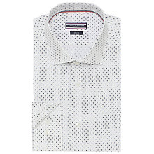 Buy Tommy Hilfiger Tailored Fit Mini Paisley Print Shirt Online at johnlewis.com