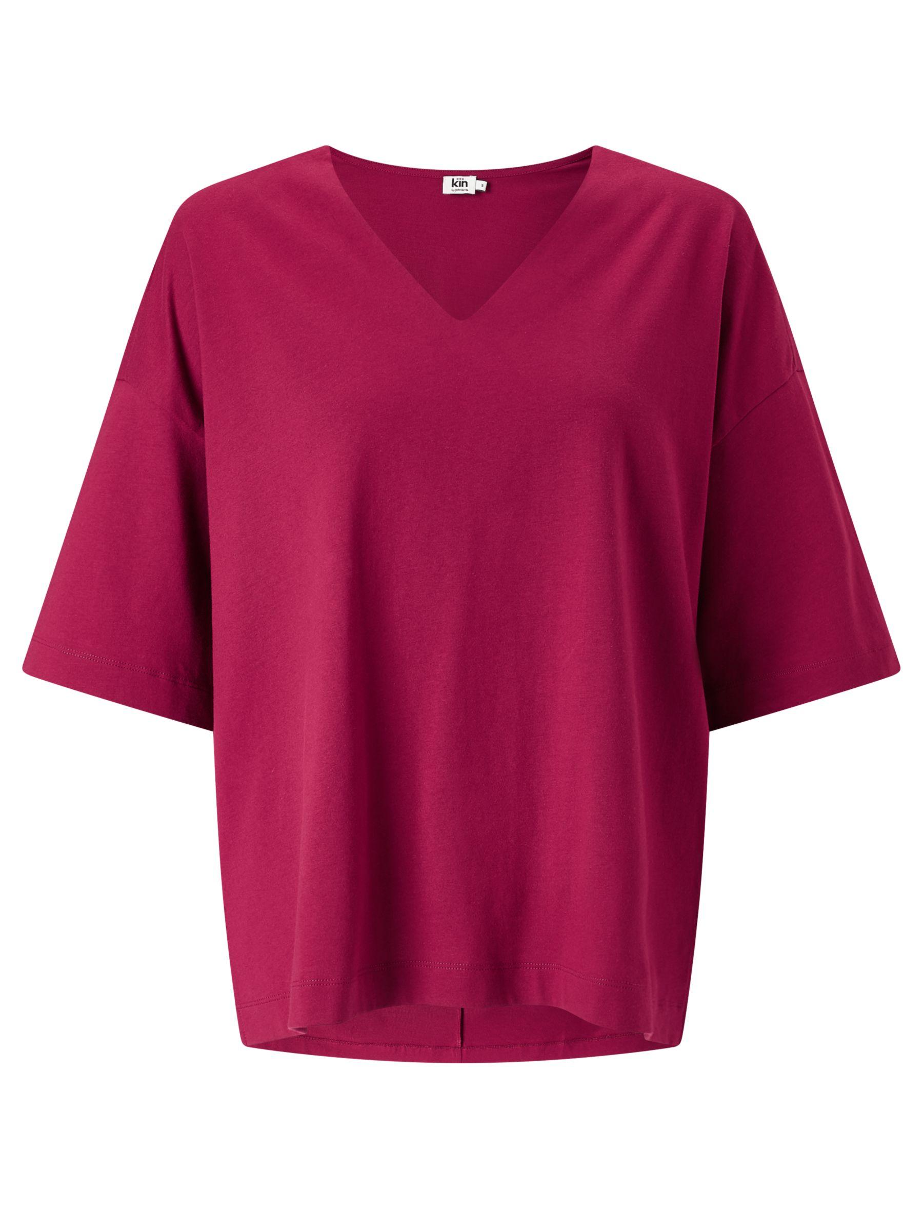 Kin by John Lewis Kin by John Lewis V-Neck Oversized T-Shirt