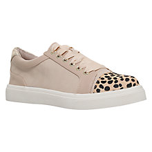 Buy Miss KG Louie Lace Up Trainers, Nude Online at johnlewis.com