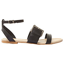 Buy Mint Velvet Penny Buckle Sandals, Black Online at johnlewis.com