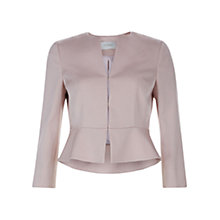 Buy Hobbs Harper Jacket, Blossom Pink Online at johnlewis.com