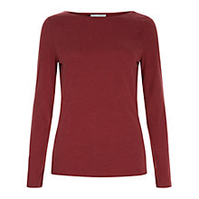 Buy Hobbs Ivanna Marl Top Online at johnlewis.com