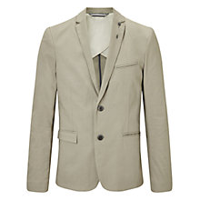 Buy BOSS Orange Benestretch Slim Fit Blazer, Medium Beige Online at johnlewis.com