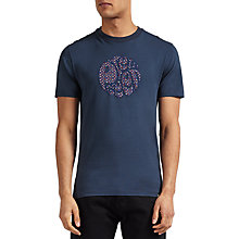 Buy Pretty Green Rindle Logo Crew Neck T-Shirt Online at johnlewis.com