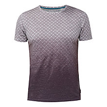 Buy Ted Baker About T-Shirt, Charcoal Online at johnlewis.com