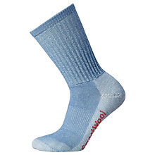 Buy SmartWool Women's Hike Light Crew Socks, Blue Online at johnlewis.com
