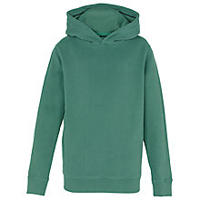 Buy Fat Face Boys' Graphic Hoodie, Green Online at johnlewis.com