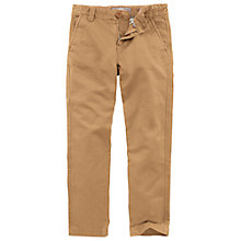 Buy Fat Face Boys' Cowes Chinos, Yellow Online at johnlewis.com