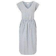 Buy Des Petits Hauts Elmita Stripe Dress, Blue/White Online at johnlewis.com