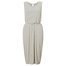 Buy Numph Maddy Stripe Dress, Birch Online at johnlewis.com