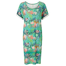 Buy Des Petits Hauts Zonati Jungle Print Dress, Multi Online at johnlewis.com