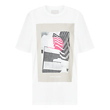 Buy Waven Tumi Printed T-Shirt, White Online at johnlewis.com