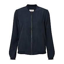 Buy Numph Gislrun Bomber Jacket, Dark Sapphire Online at johnlewis.com