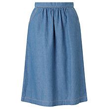 Buy Des Petits Hauts Leandre Denim Skirt, Blue Online at johnlewis.com