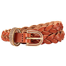 Buy Des Petits Hauts Pitti Belt, Natural Online at johnlewis.com