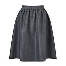 Buy Minimum Baltima Denim Skirt, Medium Grey Online at johnlewis.com