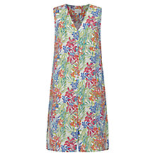 Buy East Linen Aloha Print Dress, Multi Online at johnlewis.com