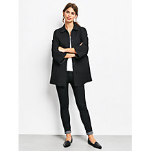 Buy hush Hemingway Duster Coat, Black Online at johnlewis.com