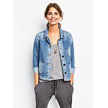 Buy hush Carpenter Denim Jacket, Blue Online at johnlewis.com