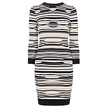 Buy Karen Millen Pointelle Knit Dress, Multi Online at johnlewis.com