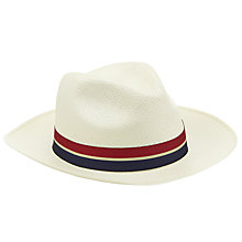Buy Olney Sienna Brisa Panama Hat, Natural Online at johnlewis.com