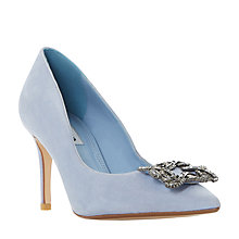 Buy Dune Betti Embellished Stiletto Heeled Court Shoes Online at johnlewis.com
