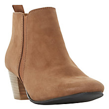 Buy Dune Perdy Block Heeled Ankle Boots Online at johnlewis.com