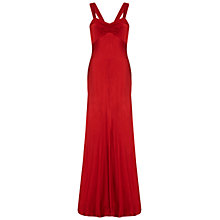 Buy Ghost Bea Dress, Chilli Red Online at johnlewis.com