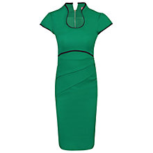 Buy Jolie Moi Contrast Trim High Collar Dress Online at johnlewis.com
