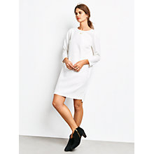 Buy hush Fearne Shift Dress, White Online at johnlewis.com