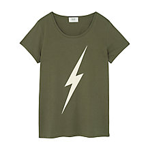 Buy hush Lightning Bolt T-Shirt Online at johnlewis.com