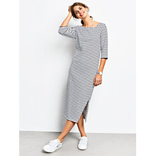 Buy hush Solana Striped Dress, Black/White Online at johnlewis.com