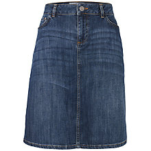 Buy Fat Face Daniela Skirt, Denim Online at johnlewis.com