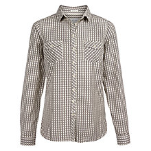 Buy Fat Face Rosie Gingham Shirt, Ivory/Multi Online at johnlewis.com