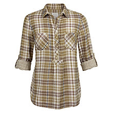 Buy Fat Face Maisy Popover Check Shirt Online at johnlewis.com