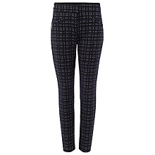 Buy Phase Eight Alice Invisible Zip Trousers, Multi Online at johnlewis.com