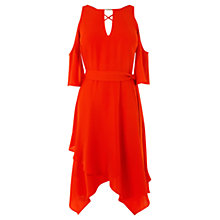 Buy Coast Rossano Dress, Red Online at johnlewis.com