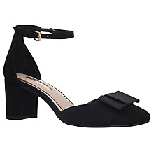 Buy Miss KG Carys Bow Two Part Court Shoes, Black Online at johnlewis.com