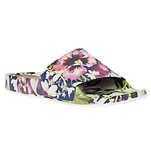 Buy Ted Baker Armeana Entangled Enchantment Flat Sandals, Multi Online at johnlewis.com