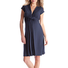 Buy Séraphine Jolene Maternity Nursing Dress, Navy Online at johnlewis.com