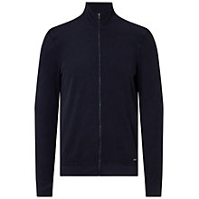 Buy BOSS Orange Zantana Sweat Jacket, Dark Blue Online at johnlewis.com