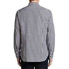 Buy BOSS Green C-Bustai Dobby Check Shirt, Navy Online at johnlewis.com